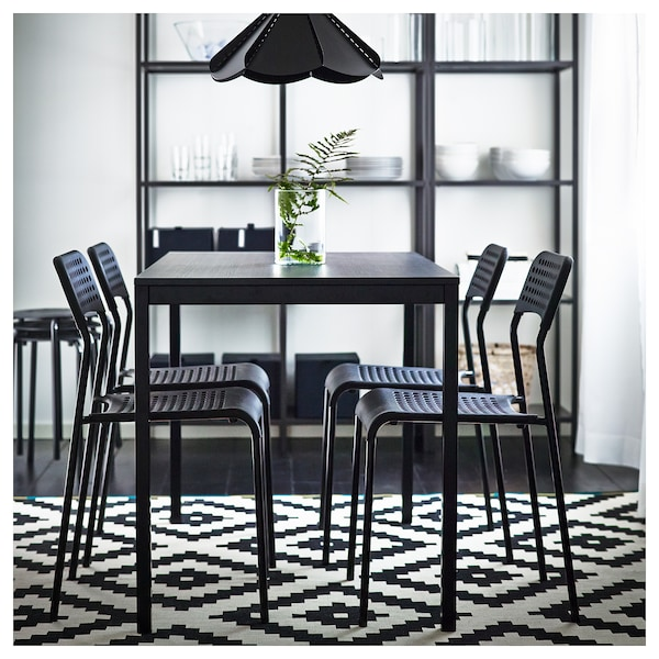 ADDE Stol, svart IKEA