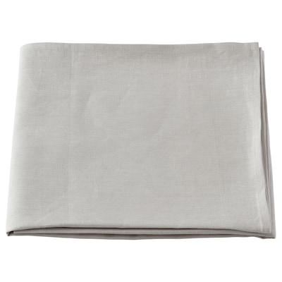 ÅKERKÖSA Duk, ljusgrå, 145x240 cm