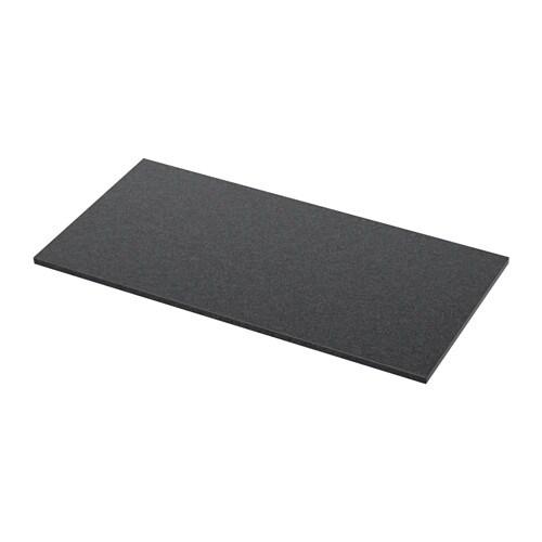 ALDERN Bänkskiva svart stenmönstrad IKEA