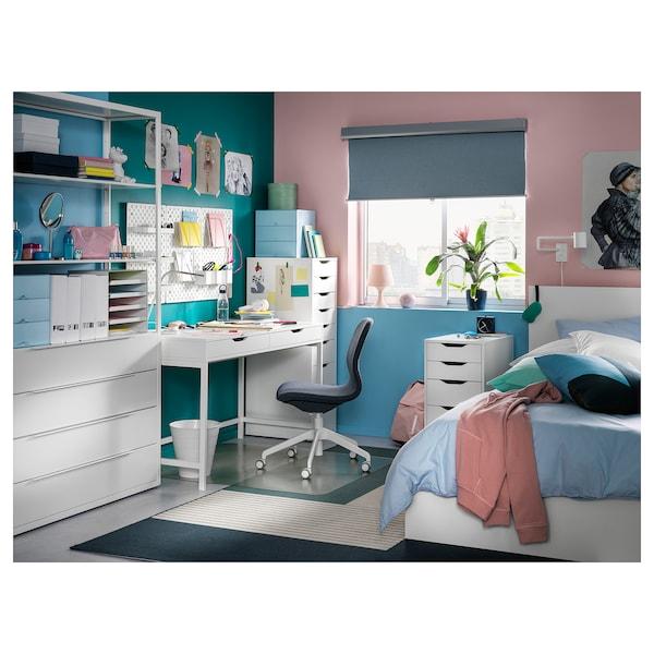 ALEX Skrivbord, vit, 131x60 cm IKEA