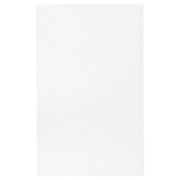 ALSTERN Badrumsmatta, vit, 50x80 cm