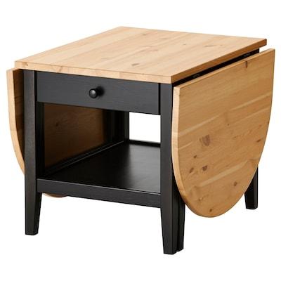 ARKELSTORP Soffbord, svart, 65x140x52 cm