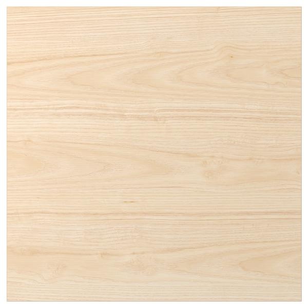 ASKERSUND Dörr, ljus askmönstrad, 60x60 cm