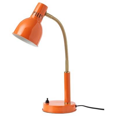 BASTERUD Arbetslampa, orange