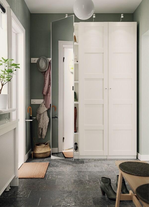 BERGSBO Dörr, vit, 50x229 cm