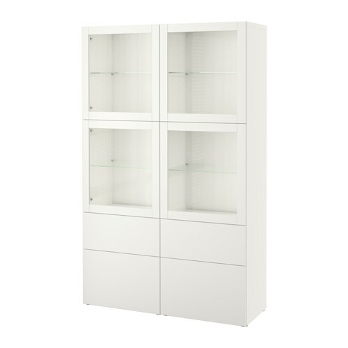 Ikea Teppich In Waschmaschine ~  Lappviken Sindvik vit klarglas, lådskena, tryck och öppna  IKEA