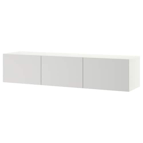 IKEA BESTÅ Tv-bänk med dörrar