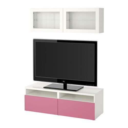 best tv f rvaring kombination glasd rrar lappviken rosa. Black Bedroom Furniture Sets. Home Design Ideas