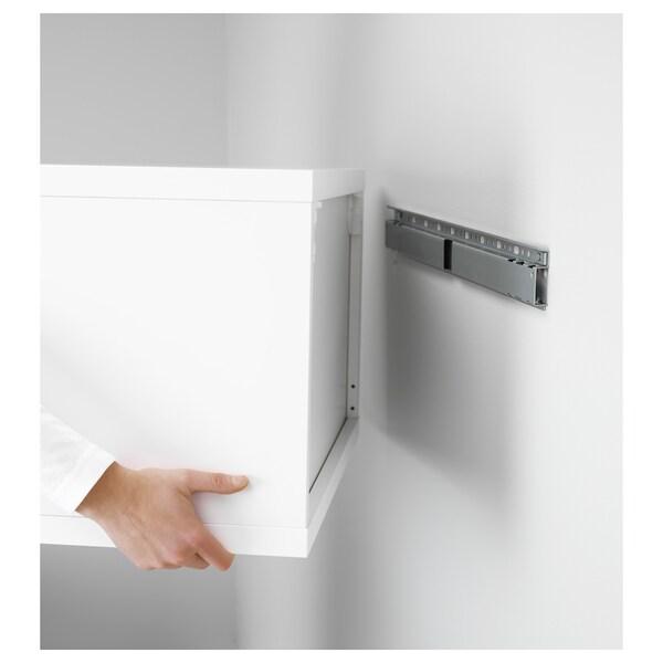 BESTÅ Väggskena, silverfärgad, 60 cm