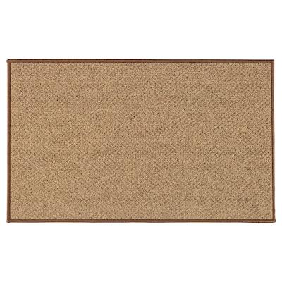 BIERSTED Dörrmatta, inom-/utomhus natur, 50x80 cm