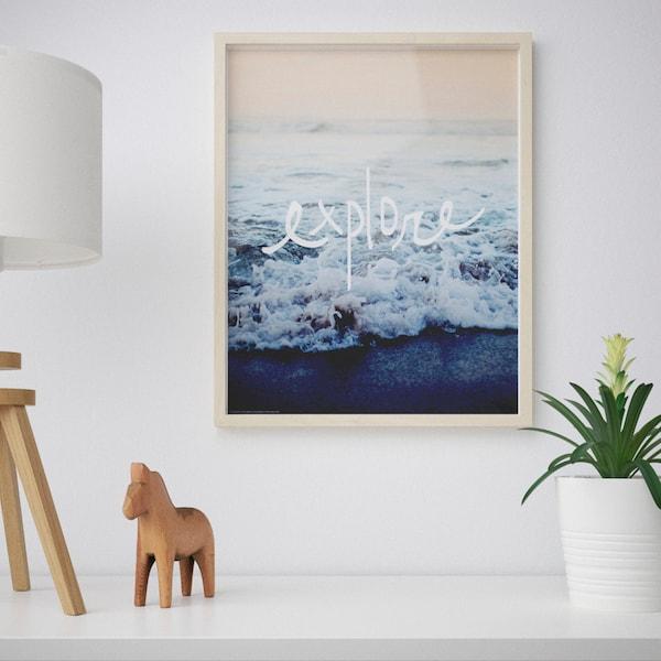 BILD Bild, Upptäck, 40x50 cm