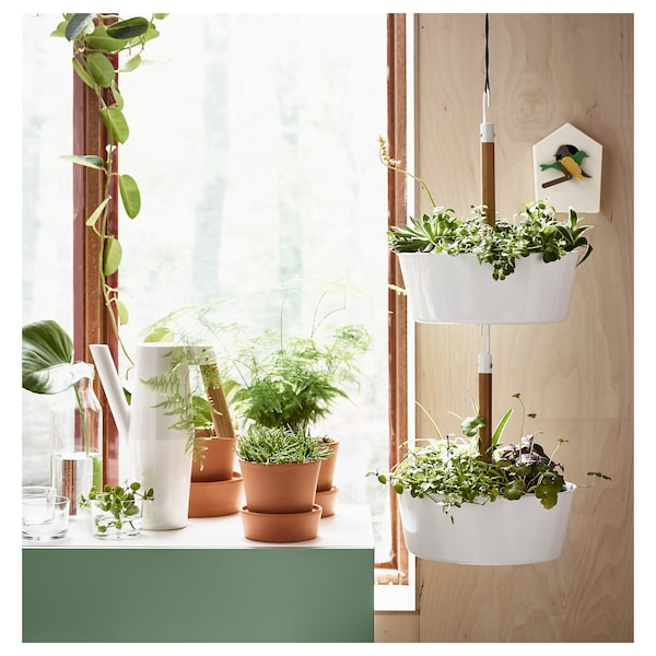 BITTERGURKA Ampel, vit IKEA