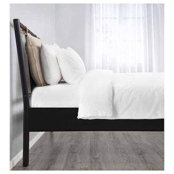 BJÖRKSNÄS Sängstomme, svart, 180x200 cm