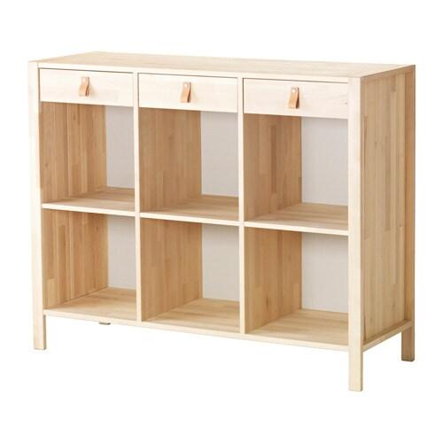 BJÖRKSNäS Avlastningsbord björk, IKEA
