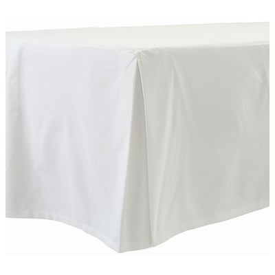 BLÅFLOX Sängkappa, vit, 180x200 cm