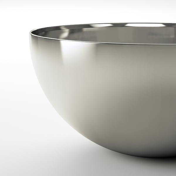 BLANDA BLANK Serveringsskål, rostfritt stål, 20 cm
