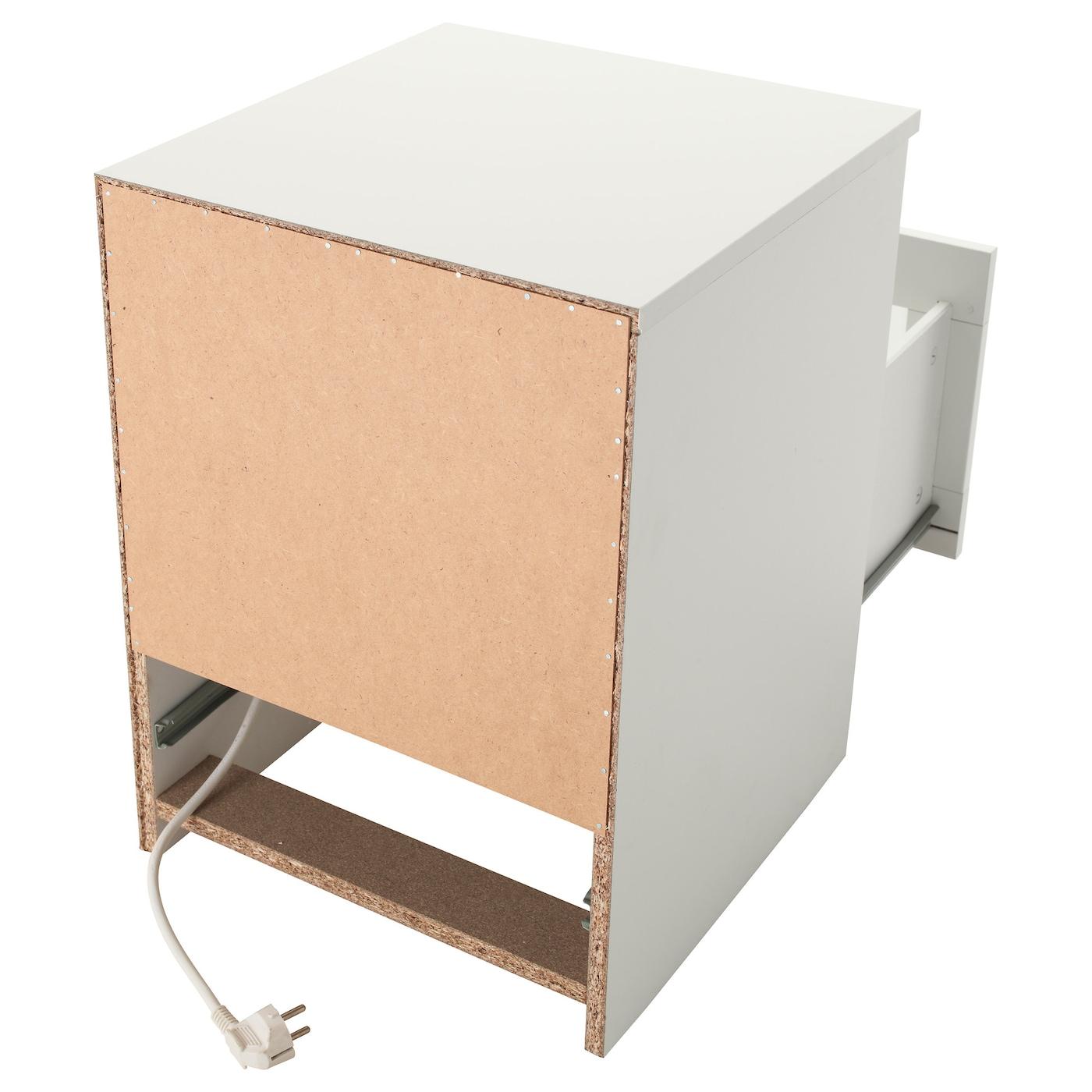 BRIMNES Avlastningsbord, vit, 39x41 cm IKEA