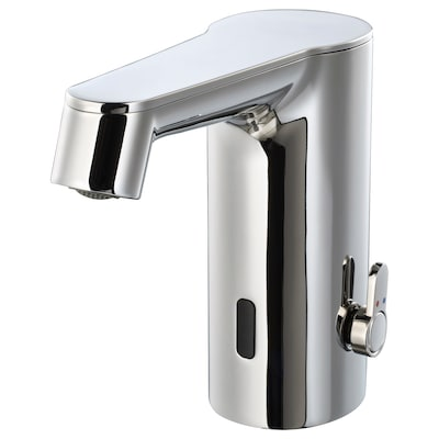 BROGRUND Tvättställsblandare med sensor, förkromad