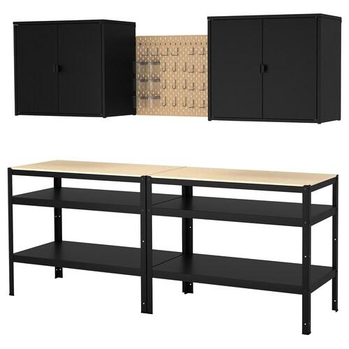 IKEA BROR Förvaring med skåp/arbetsbord