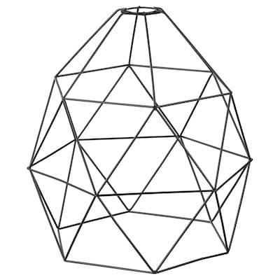 BRUNSTA Taklampskärm, svart, 30 cm