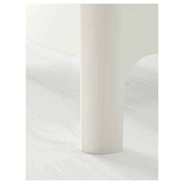 BUSUNGE växasäng vit 138 cm 208 cm 90 cm 100 cm 100 kg 200 cm 80 cm