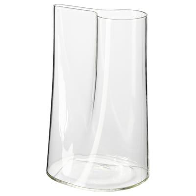 CHILIFRUKT Vas/vattenkanna, klarglas, 21 cm