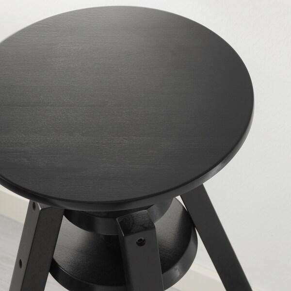 DALFRED Barpall, svart, 63-74 cm