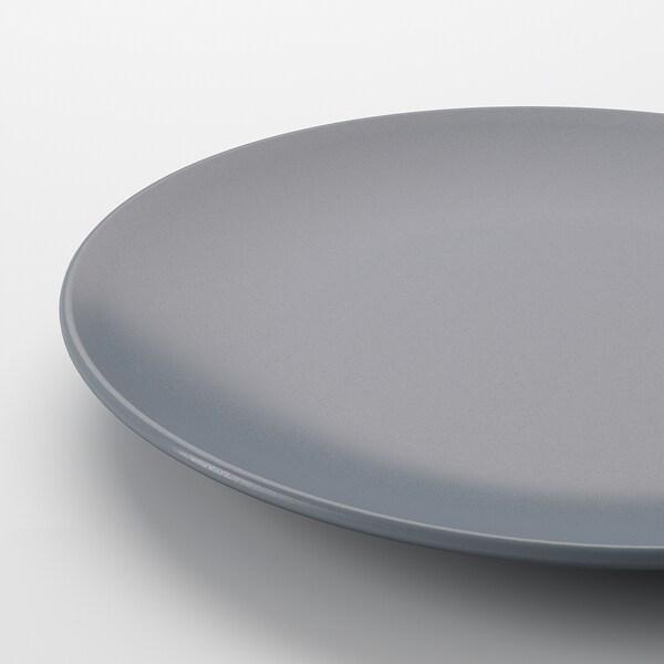 DINERA tallrik gråblå 26 cm