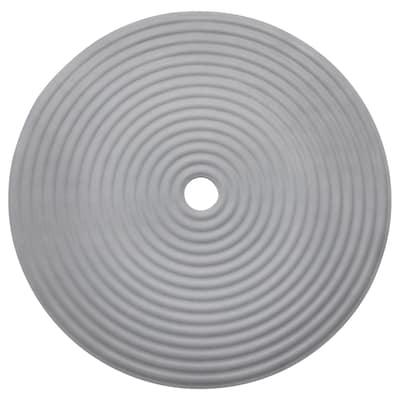 DOPPA Duschmatta, mörkgrå, 46 cm
