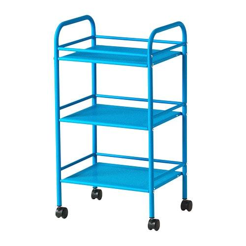DRAGGAN Rullvagn IKEA Lätt att flytta - hjul ingår.