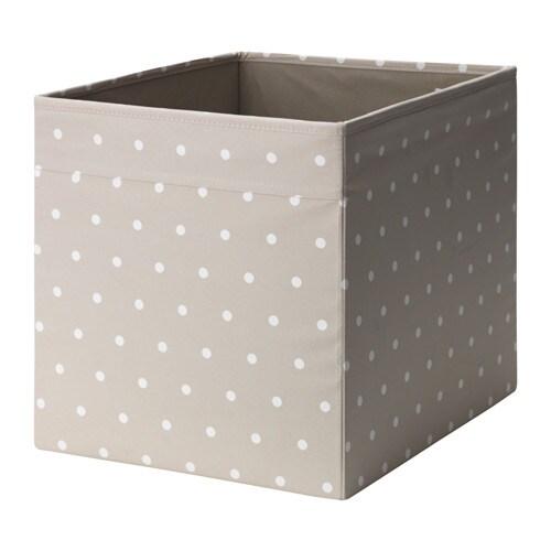 DRÖNA Låda IKEA Perfekt för allt från tidningar till kläder. Enkel att dra ut och lyfta eftersom lådan har handtag.