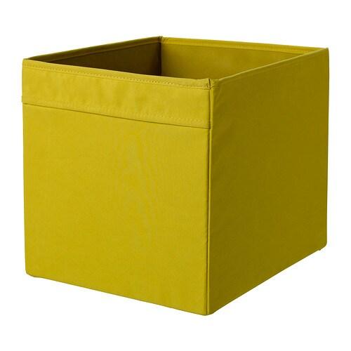 DRÖNA Låda IKEA Enkel att dra ut och lyfta eftersom lådan har handtag. Perfekt för allt från tidningar till kläder.