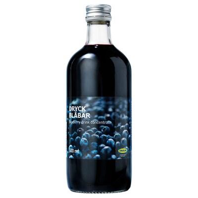 DRYCK BLÅBÄR Blåbärskoncentrat, 500 ml