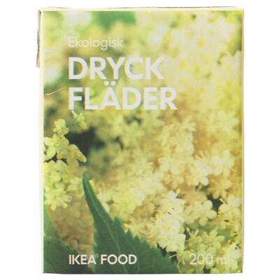 DRYCK FLÄDER Fläderblomsdricka, ekologisk, 200 ml
