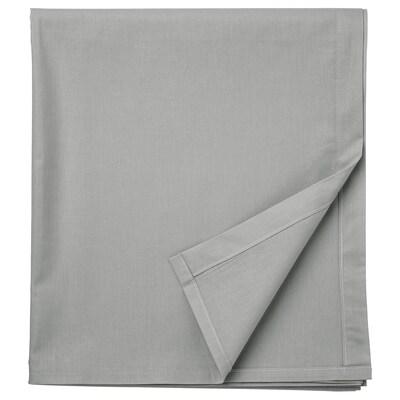 DVALA Lakan, ljusgrå, 240x260 cm