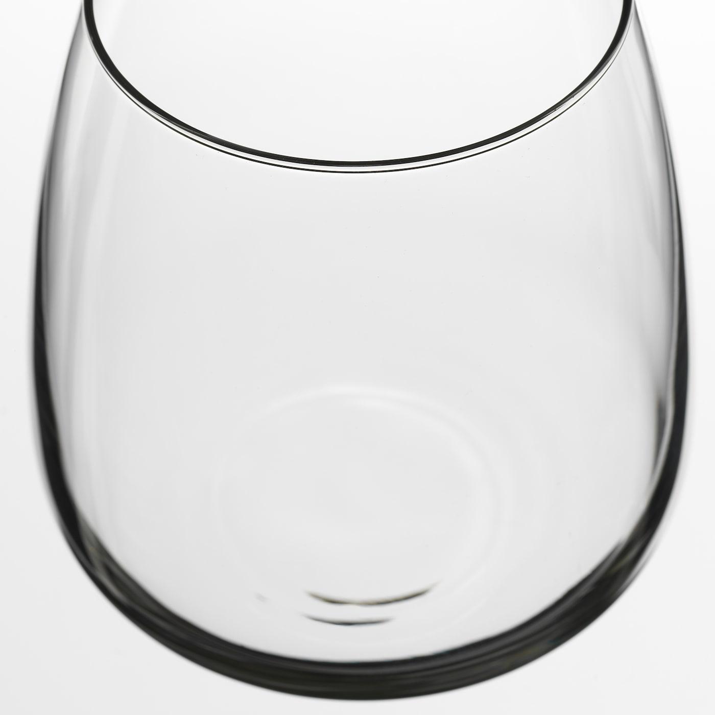 DYRGRIP glas klarglas 9 cm 36 cl