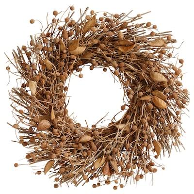 EFTERTRYCK Krans, natur, 43 cm