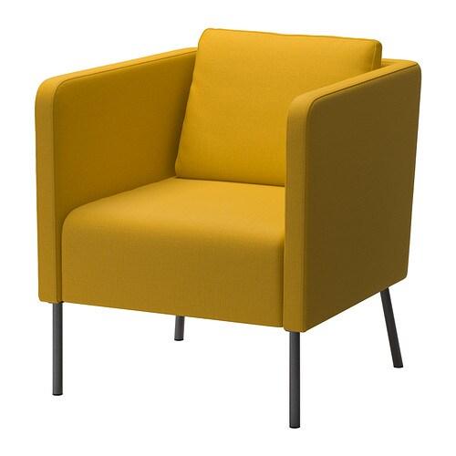 EKERÖ Fåtölj Skiftebo gul IKEA
