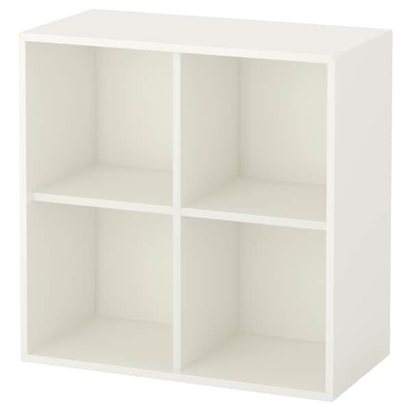 EKET Skåp med 4 fack, vit, 70x35x70 cm