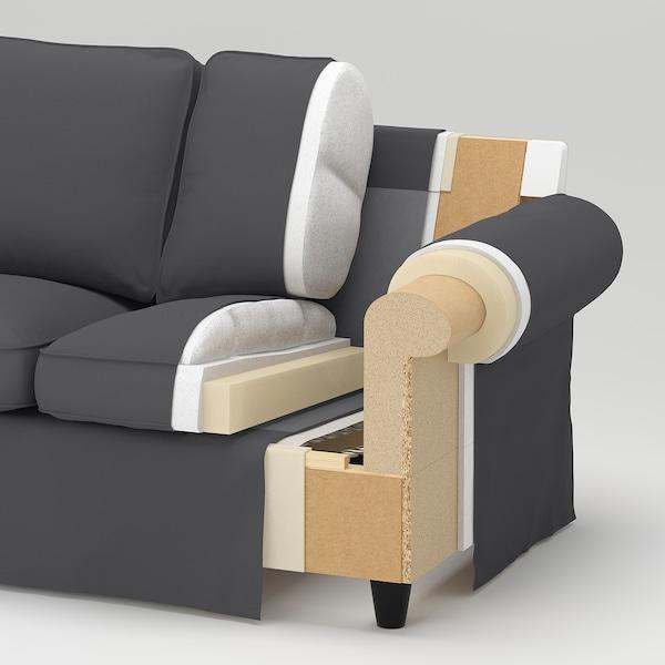 EKTORP 2-sitssoffa, Hallarp grå