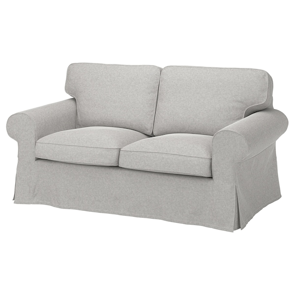 EKTORP 2-sitssoffa, Tallmyra vit/svart