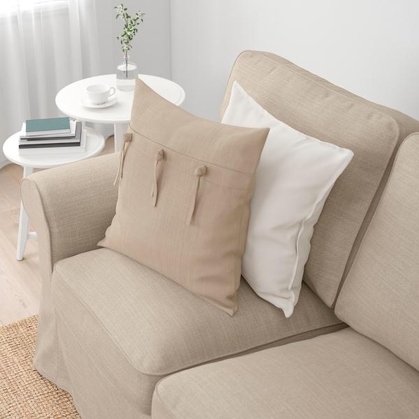 EKTORP 3-sitssoffa, Hillared beige