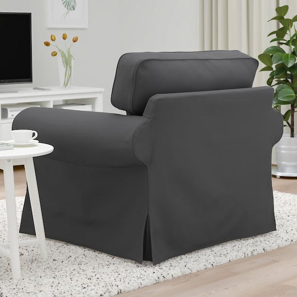 EKTORP Fåtölj, Hallarp grå