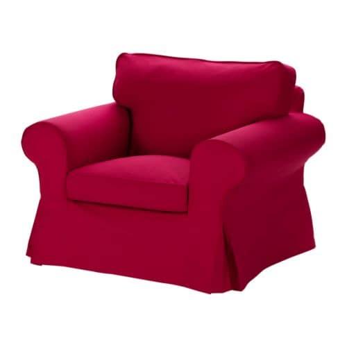 EKTORP Fåtölj IKEA Lätt att hålla ren, avtagbar och maskintvättbar klädsel.