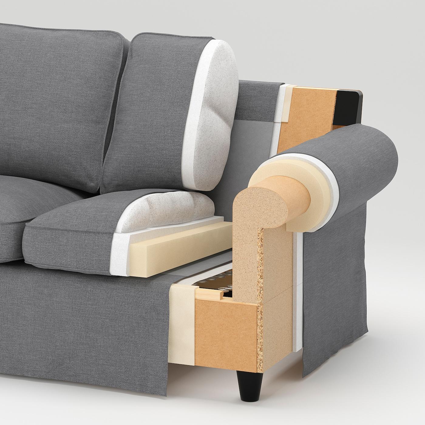 EKTORP Hörnsoffa, 4 sits Blekinge vit IKEA