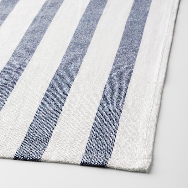 ELLY kökshandduk vit/blå 65 cm 50 cm 4 styck
