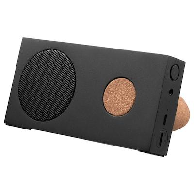 ENEBY Bärbar bluetooth-högtalare, svart, 15x7.5 cm
