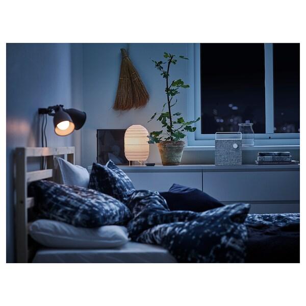 ENEBY Bluetooth högtalare, vit, 20x20 cm