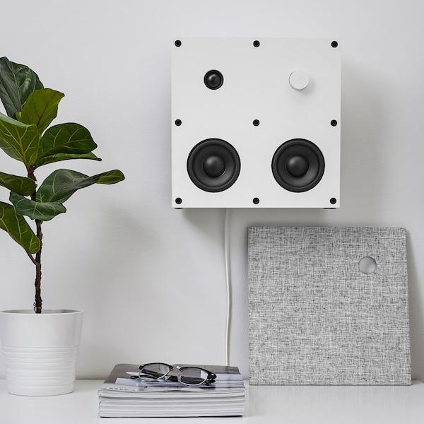 ENEBY Bluetooth högtalare, vit, 30x30 cm