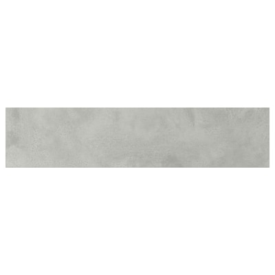 ENHET Lådfront för bänkskåp för ugn, betongmönstrad, 60x14 cm